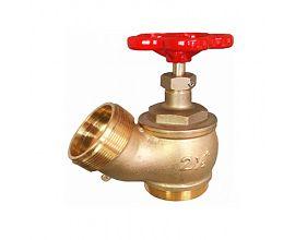 21/2 inch Brass oblique fire hydrant landing valve