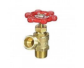 """3/4""""Brass boiler drain"""