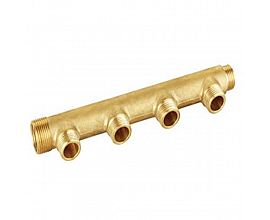 Brass Fittings Three Ways Manifold