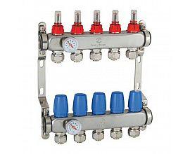 Brass Manifolds for Underfloor Heating
