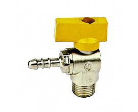 forged brass angle gas ball valve
