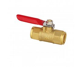 Female pneumatic gas mini ball valve