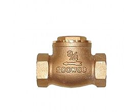 3/4inch Bronze Sweat Connections Swing Check Valve welding type