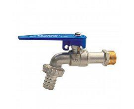 Cheaper Lockable hose zinc-alloy bibcock  garden water tap with key