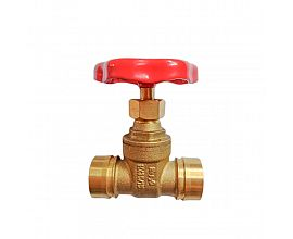 New type welding brass gate valve
