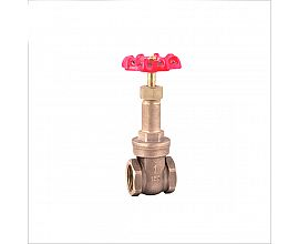 Bronze extended brass stem gate valve
