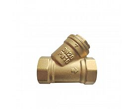 PN16 Brass Y-strainer with SS filter