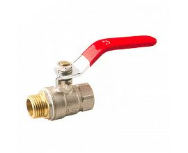 Standard Long Steel Handle Brass Ball Valve