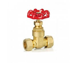 Brass Compression Gate Valve