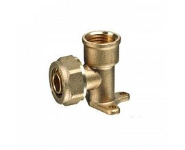 Wall Plate Brass Compression Fitting