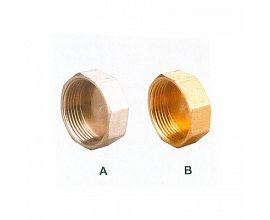 Brass Female Cap