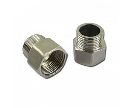 Nickel Plated Hex Valve Bushings