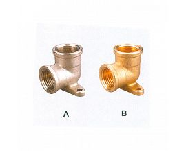Wall Plate Elbow Union