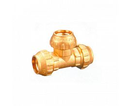 Equal Tee Compression Fittings