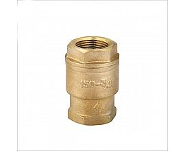 New type thread brass check foot valve
