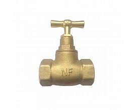 NF Brass globe valve