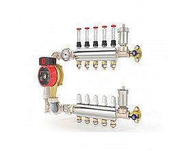 Europe type brass manifolds