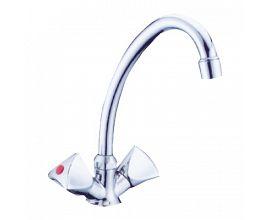 Double Handle Wash Basin Faucet
