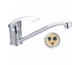 Long Neck Kitchen Sink Faucet