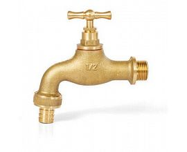 Brass Bibcock Water Tap