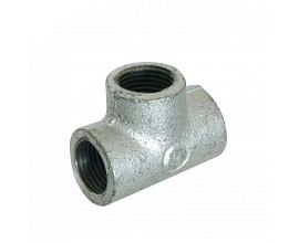 Malleable Iron Equal Tee Pipe Fitting