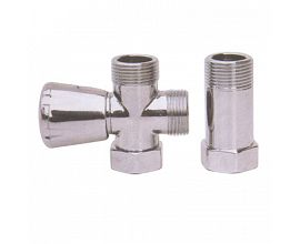 Bathroom Brass Polished Angle Valves