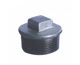 G.I. Pipe Square Head Plugs
