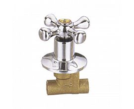 Brass Globe Valve with Flange