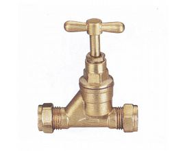 Water Pipe Compression Stop Valves