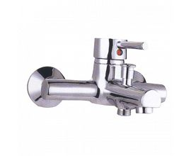 Single Handle Wall Mount Bath Shower Faucet