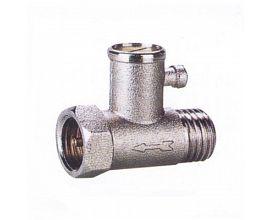 Brass pressure relief valve