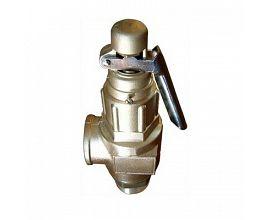 Brass safety valves