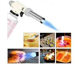 Reversible 360 Degree Rotary Kitchen Gun reverse fire gas torch