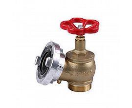 PN16 2inch brass landing valve with 2inch aluminium Storz adaptor