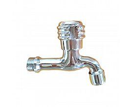 Srilanka type brass chrome plated pillar tap