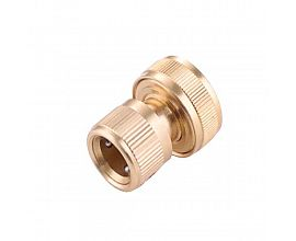 1/2 in brass quick connector