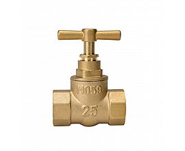 South American popular concealed Brass Stop Valves