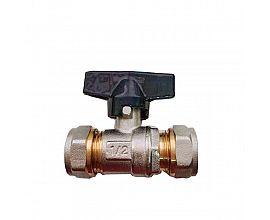 Russian popular Brass compression ball valve