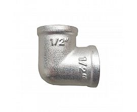 Russian market brass 90 degree elbow