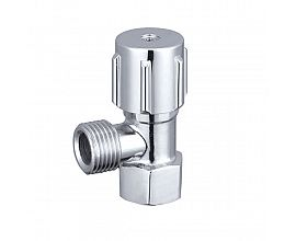 Economic Brass body sanitary wall mounted angle valve