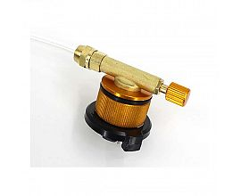 Perfeclan Outdoor Barbecue Gas Adapter Camping Stove Propane Refill Adapter