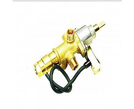 Flameout protective gas valve