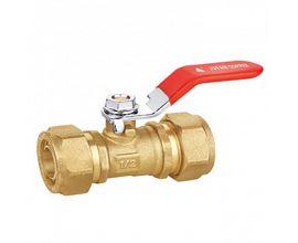 compresstion water brass ball valve