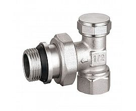 Heating nickel plating radiator valve