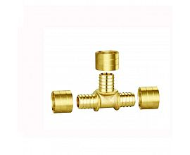 Brass reducing Tee fittings