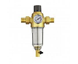 Whole House Pressure Regulating Backwash Pre Filter Purifier