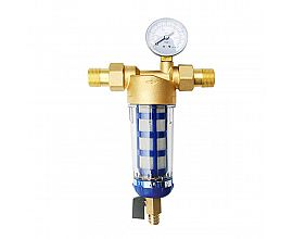 Brass pre filter valve with/without manometer