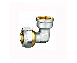 PEX-AL-PEX pipe elbow female
